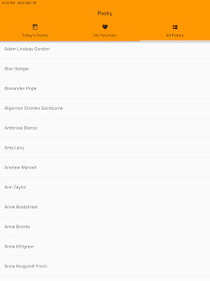 Rhyming Modern Poems Reader - Read Famous Poetry for PC-Windows 7,8,10 and Mac apk screenshot 5