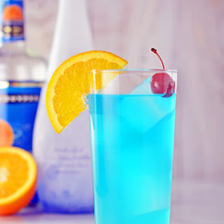 Orange And Blue Cocktails Recipes
