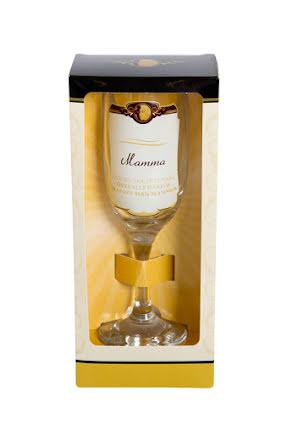 Champagneglas, mamma