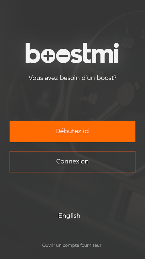 boostmi – Capture d'écran