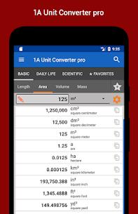 1A Unit Converter pro v2.0.10 APK 1