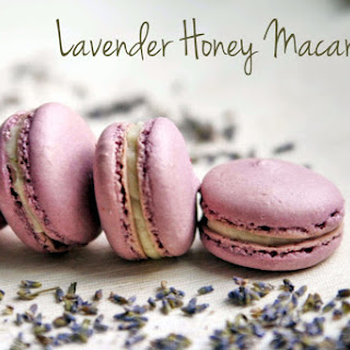Lavender Honey Macaron.