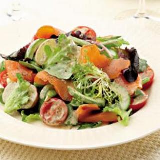 Smoked Salmon Salad Niçoise