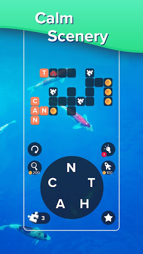 Puzzlescapes: Relaxing Word Puzzle & Spelling Game filehippodl screenshot 5