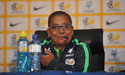 Desiree Ellis smiles during a press conference to announce her as the new full time head coach at SAFA House on 22 February 2018.