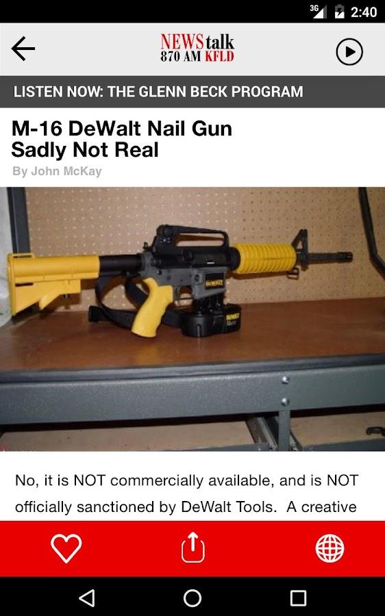 Dewalt Nail Gun M16 In Action - Best Nail 2018