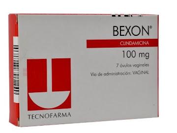 Bexon 100Mg Óvulos Caja   x7Óvu. Tecnofarma Clindamicina