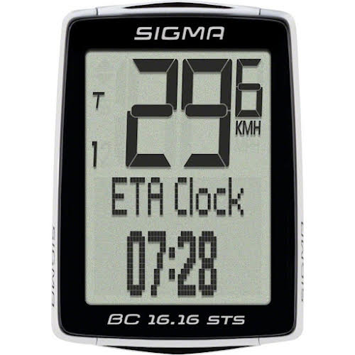 Sigma BC 16.16 STS Wireless Cycling Computer w/Cadence