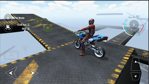 Motorbike Driving Simulator 3D  screenshots 4