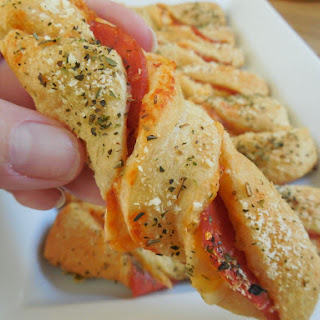 Easy Pizza Twists