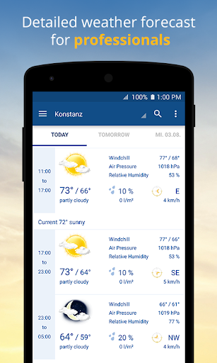 Weather and Radar - wetter.com for PC