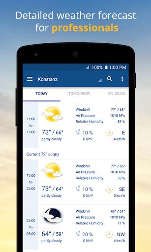 wetter.com - Weather and Radar screenshot 3