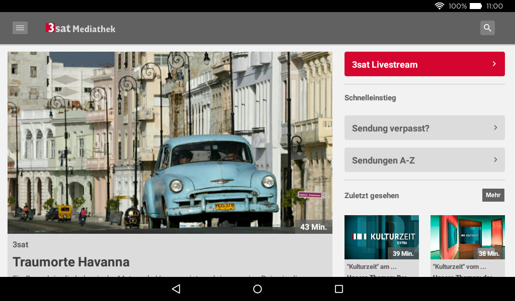 3sat mediathek android apps auf google play. Black Bedroom Furniture Sets. Home Design Ideas