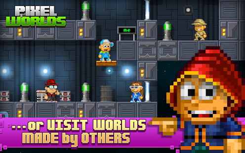 Pixel Worlds- screenshot thumbnail