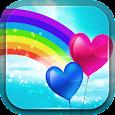 Cute Rainbow Live Wallpaper Icon