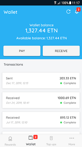 Electroneum 4.5.0 screenshots 5