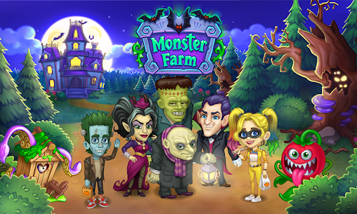 Monster Farm MOD (Unlimited Diamonds/Gold Coins/Resource) 1