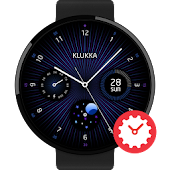 Galaxy Express watchface by Klukka