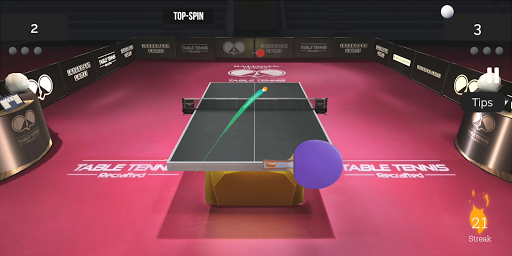 Table Tennis ReCrafted! android2mod screenshots 12
