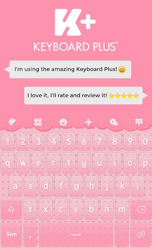 Pink Bow Keyboard