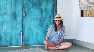 Un verano algo diferente para Isabel Jiménez que posa en su perfil de instagram.