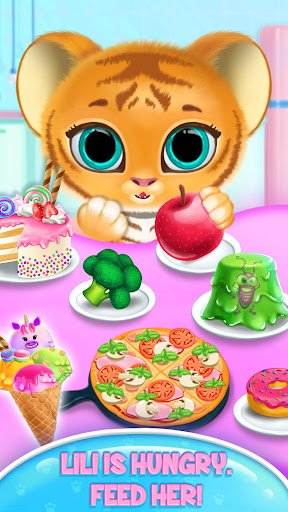 Baby Tiger Care - My Cute Virtual Pet Friend apkpoly screenshots 4