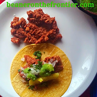 Miss Beanerina's Own Homemade Tacos al Pastor