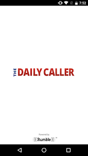 The Daily Caller- screenshot thumbnail