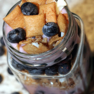 Blueberry Pie Yogurt Parfaits