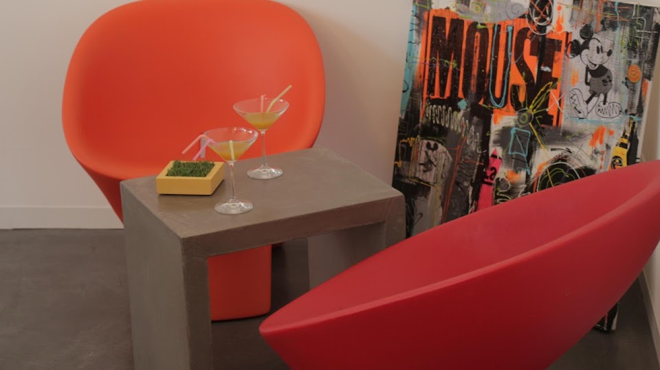Table d'appoint pour ambiance Loft Parisien
