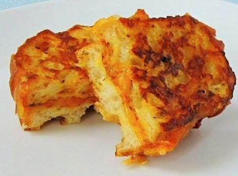 Savory, Herbed Grilled Cheese French Toast Recipe