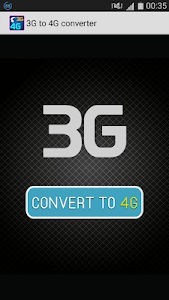 3g to 4g converter - prank screenshot 0