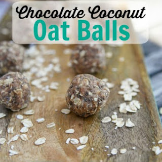 Chocolate Coconut Oat Balls.