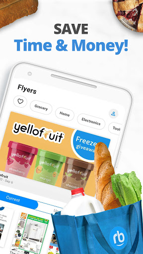 reebee: Find Flyers, Deals & Create Shopping List Apk 2