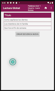 Lectura Global ( aprende a leer de forma distinta) for PC-Windows 7,8,10 and Mac apk screenshot 6