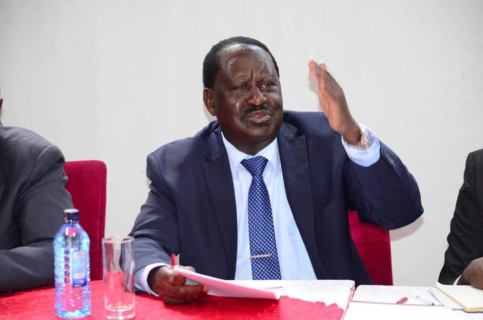 Raila tells city ODM reps to avoid chaos in assembly
