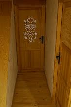 Photo: Drzwi góralskie parzenica wycinanka