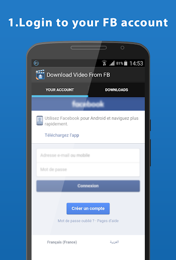 Easy Download Video For FB