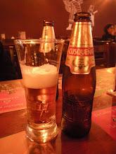 Photo: リマだけどクスコのビールで乾杯