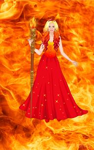 Element Princess dress up game 2