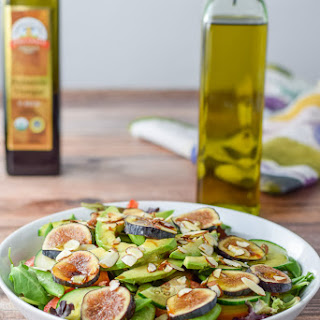 Yellow Beet and Fig Salad.