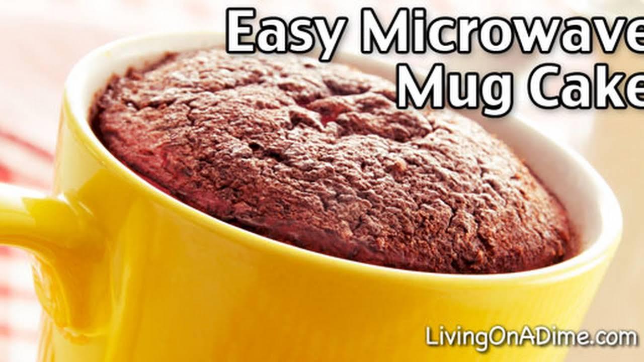 homemade warm delights easy microwave mug cake