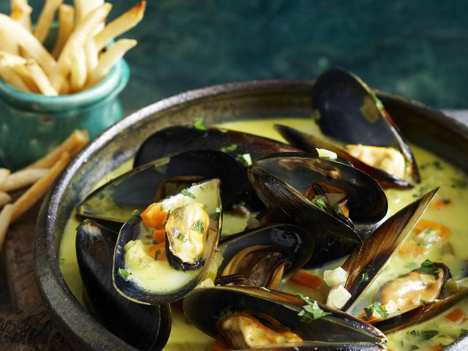 French Mussel Soup
