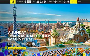 Photo: Site of the Day 21 March 2013 http://www.awwwards.com/web-design-awards/escape-flight