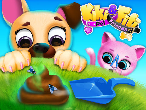 Kiki & Fifi Pet Friends - Furry Kitty & Puppy Care 2.0.98 screenshots 14