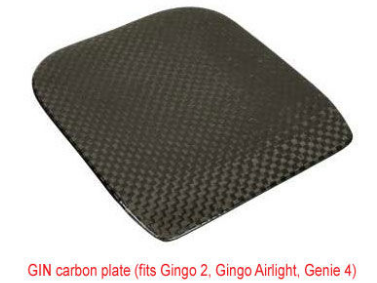 Gin carbon Seat plate
