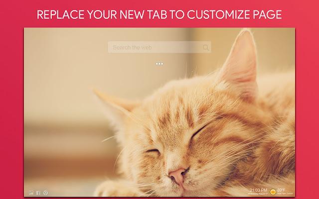Cats Wallpaper Hd Custom New Tab Kedai Web Chrome