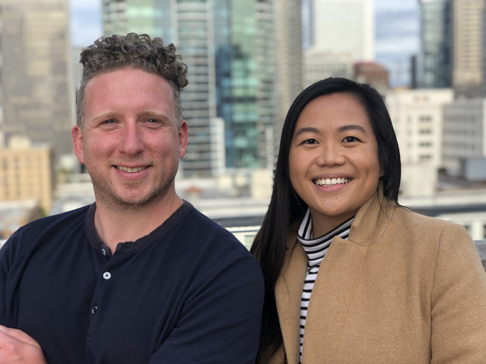 Co-Founder & CEO Todd Heine and Co-Founder & COO Sara Itucas