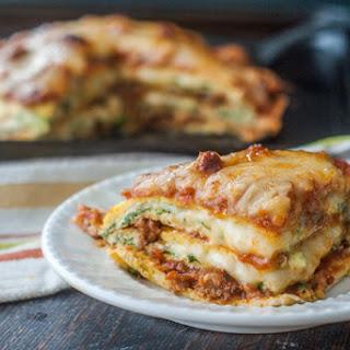 Low Carb Lasagna (gluten free).