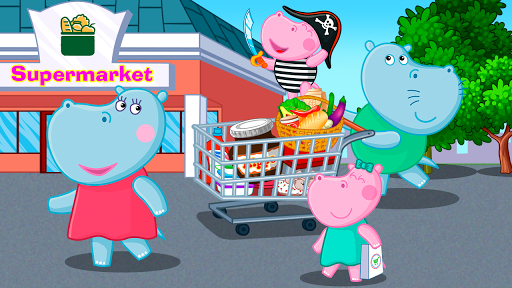 Supermarket: Shopping Games for Kids android2mod screenshots 6
